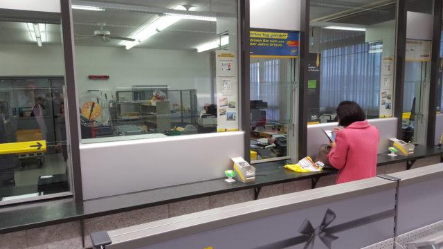 Schliessung der Post Oberrieden