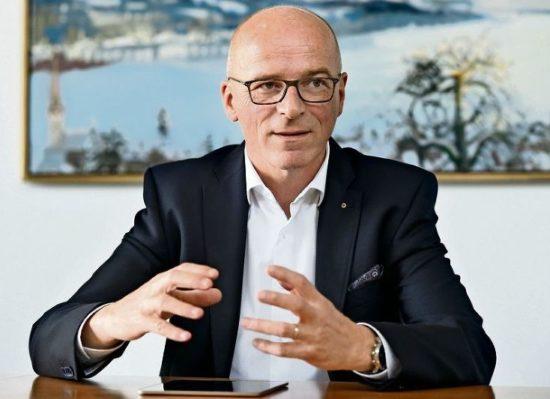 Gemeindepräsident Martin Arnold