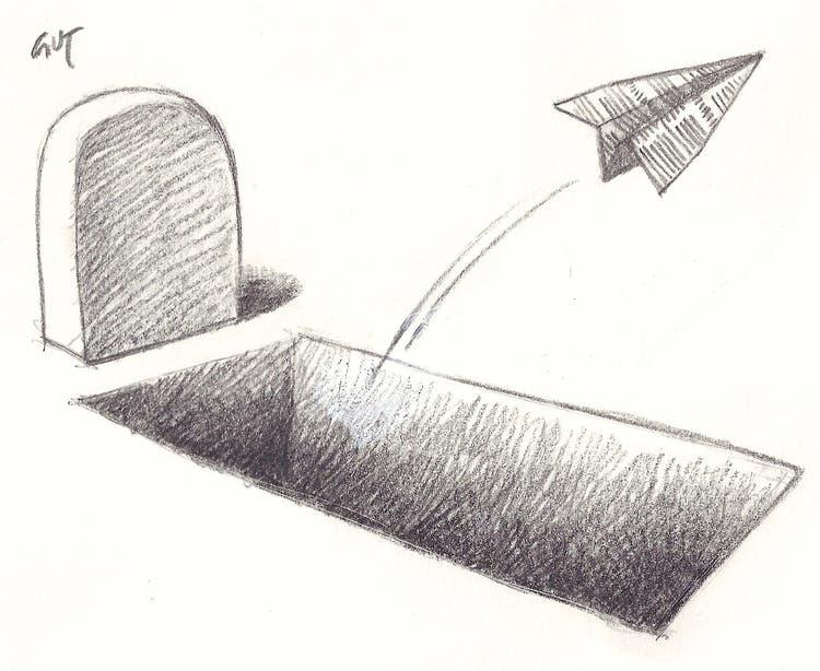 Lokalzeitungen sterben mit ihren Lesern. Damit ist die Basis der Schweizer Demokratie gefährdet