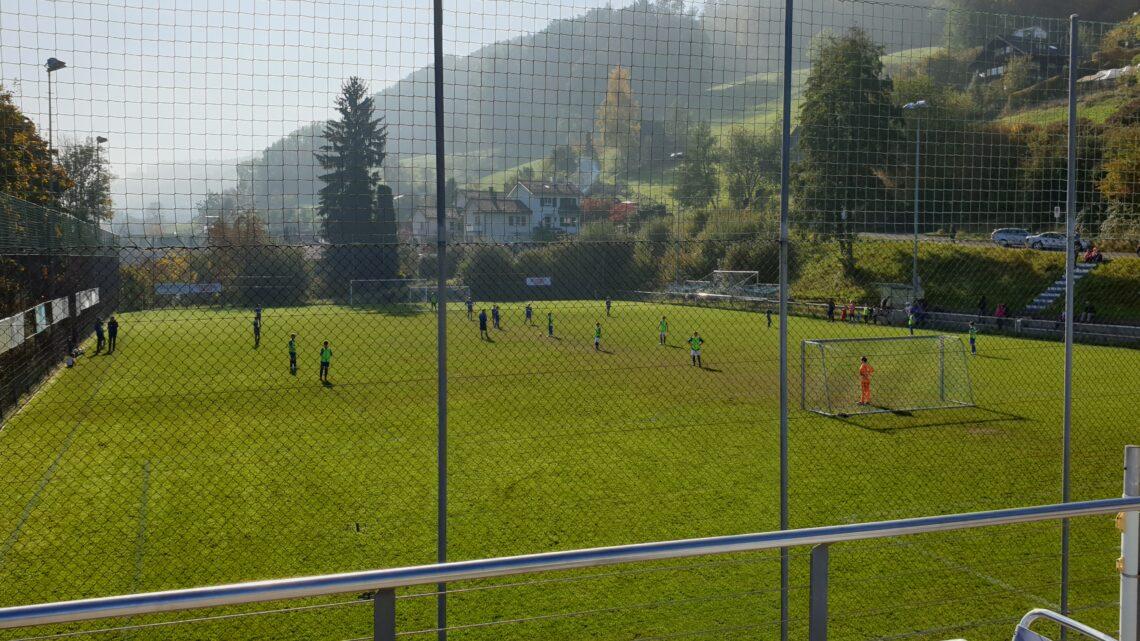 JA zu einem aktiven Dorfleben, JA zur Sanierung des Fussballplatzes